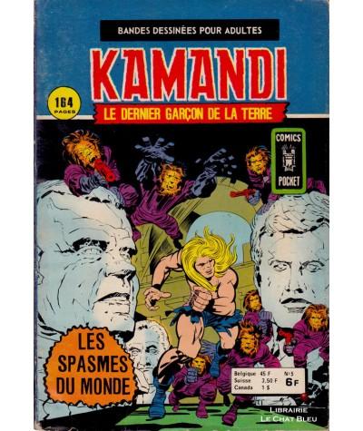 KAMANDI N° 5 : Les spasmes du monde- ARTIMA - BD petit format