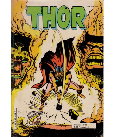 THOR (1re série) N° 21 - Collection Flash - Aredit