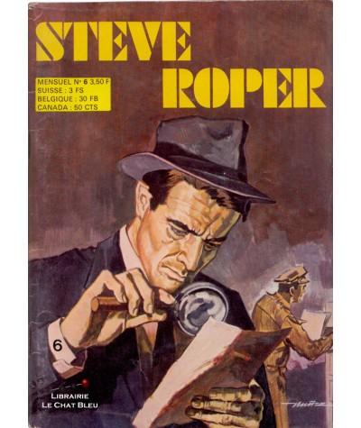 STEVE ROPER N° 6 : Le mystérieux carnet - BD petit format