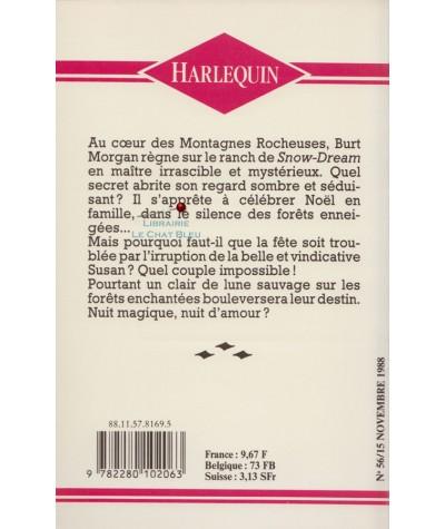 Nuit magique dans les Rocheuses (Jeanne Allan) - Harlequin N° 56
