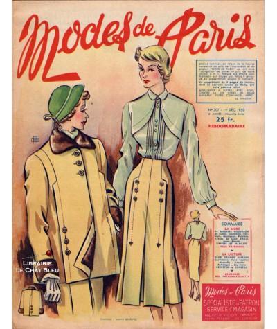 Journal Modes de Paris N° 207 du 1er décembre 1950 - Supplément de 8 pages