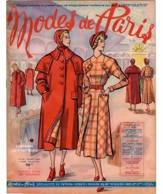 Journal Modes de Paris N° 161 du 13 janvier 1950
