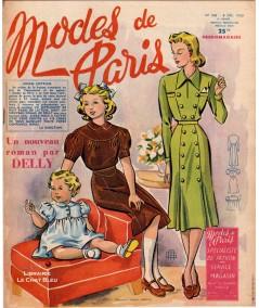 Journal Modes de Paris N° 208 du 8 décembre 1950 - Supplément de 8 pages