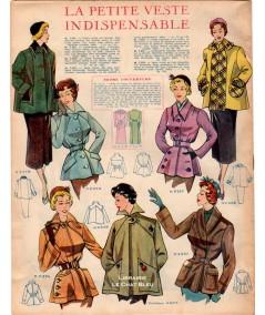Journal Modes de Paris N° 164 du 3 février 1950