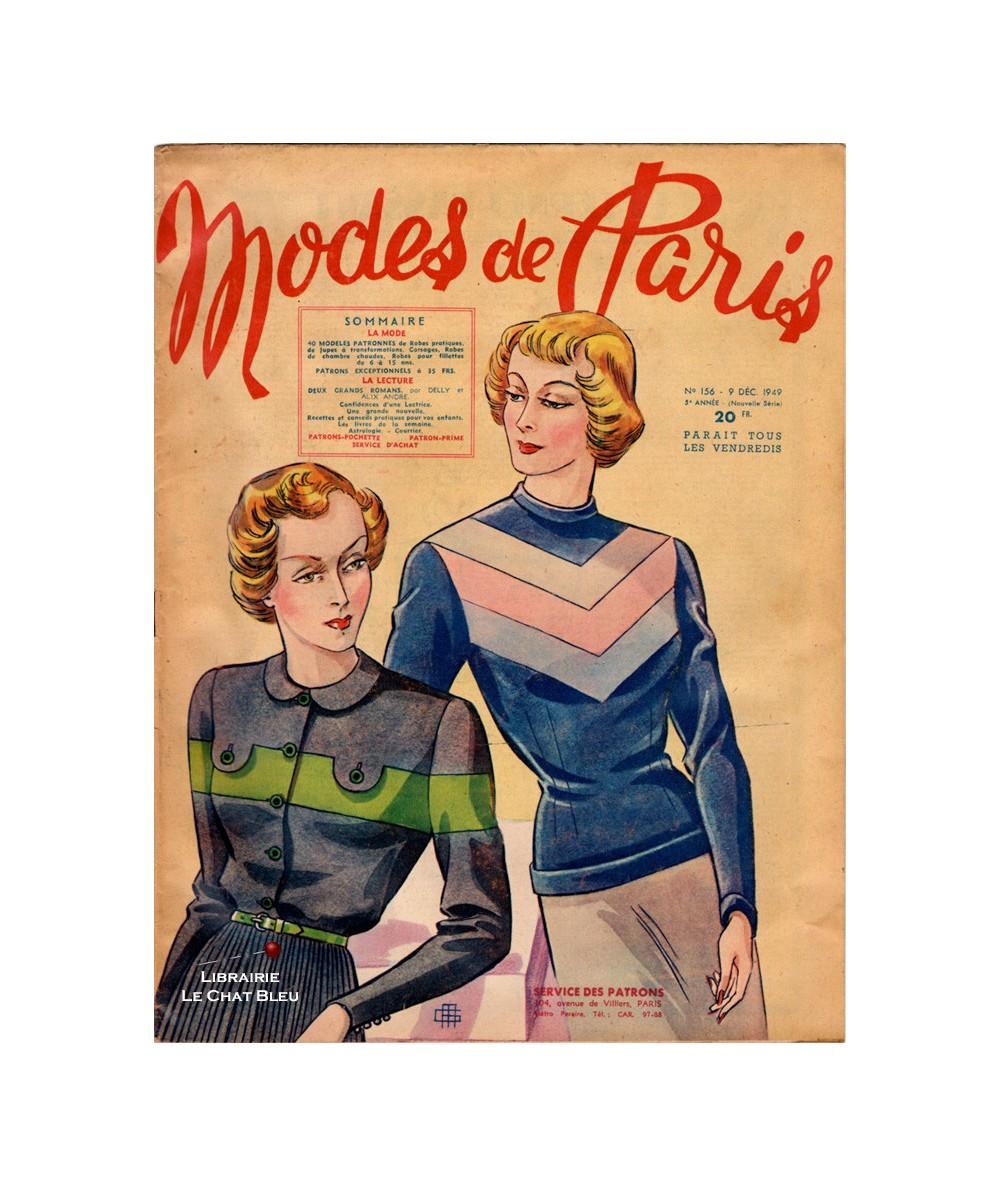 Journal Modes de Paris N° 156 du 9 décembre 1949