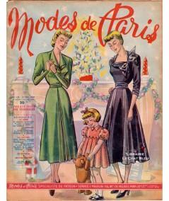 Journal Modes de Paris N° 158 du 23 décembre 1949