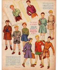 Journal Modes de Paris N° 194 du 1er septembre 1950