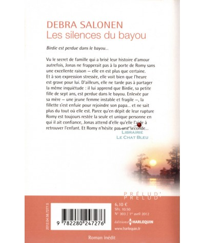Les silences du bayou (Debra Salonen) - Harlequin Prélud' N° 303