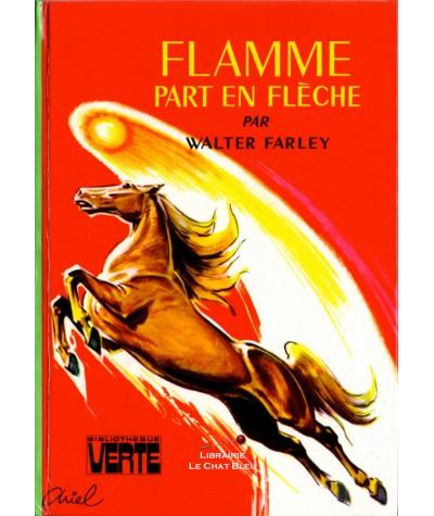 Flamme part en flèche (Walter Farley) - Bibliothèque verte