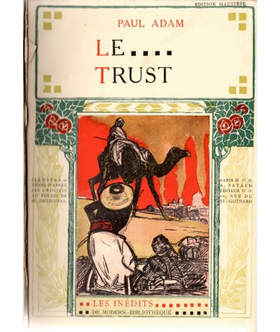 Le Trust (Paul Adam) - Les inédits de Modern-Bibliothèque
