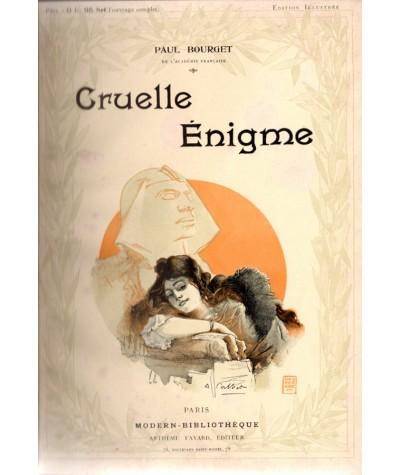 Cruelle énigme (Paul Bourget) - Les inédits de Modern-Bibliothèque