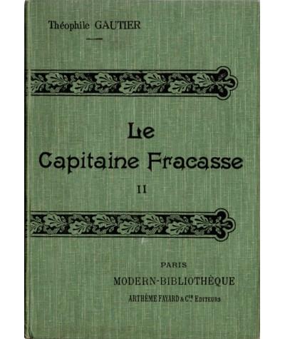 Le Capitaine Fracasse (Théophile Gautier) - Tome 2 - Modern-Bibliothèque