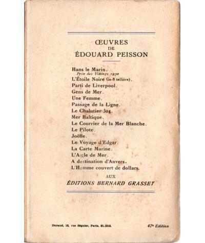 Gens de mer (Édouard Peisson) - Roman Grasset