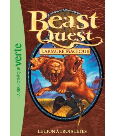 Beast Quest T14 : Le lion à trois têtes (Adam Blade) - Bibliothèque verte