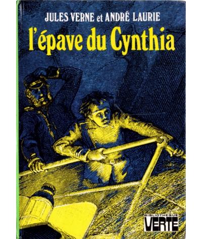 L'épave du Cynthia (Jules Verne, André Laurie) - Bibliothèque verte