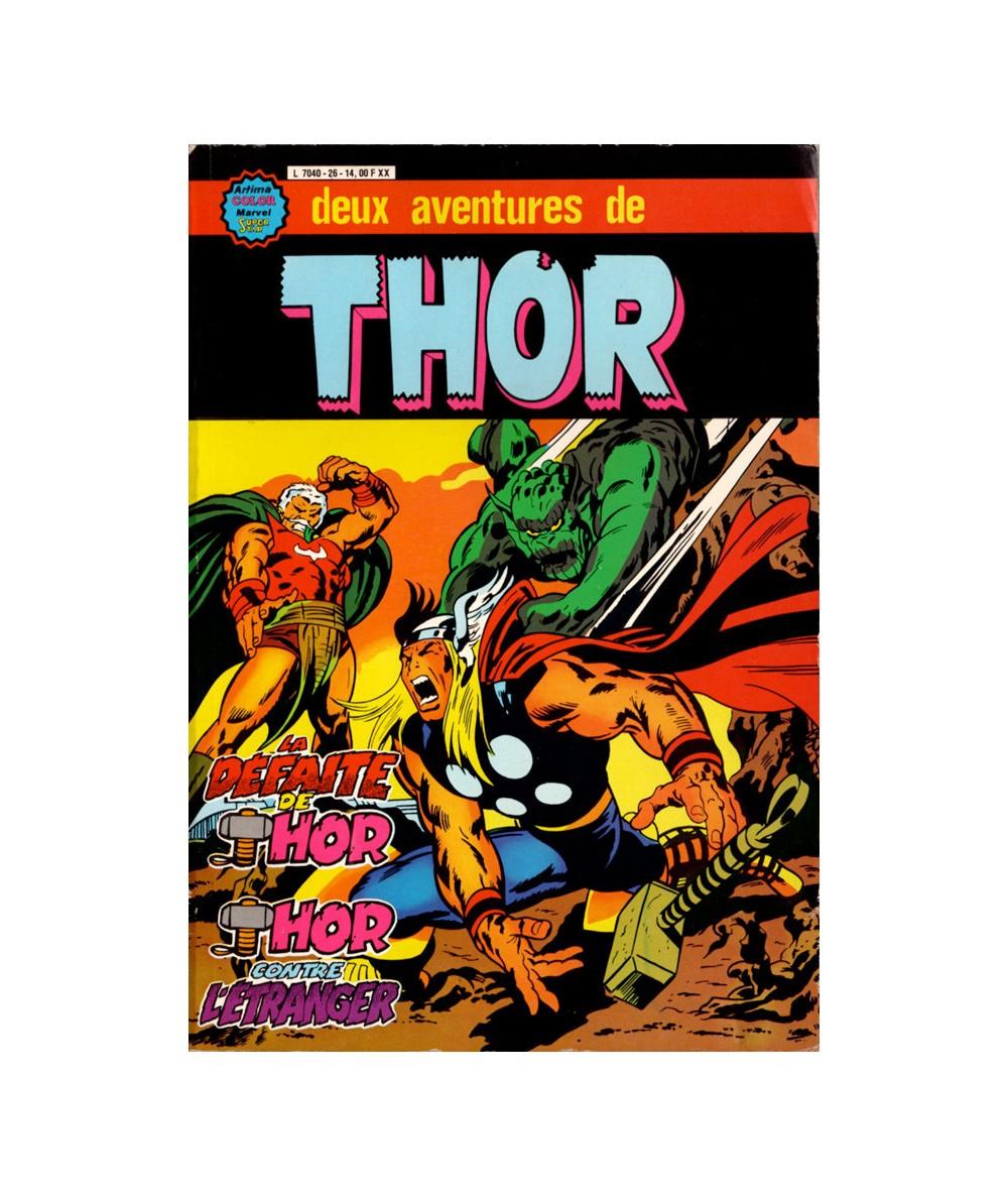 Album N° 26 - Thor le fils d'Odin : La défaite de Thor & Thor contre l'Etranger