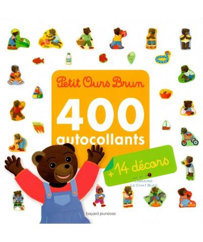 Mon grand livre d'activités de Petit Ours Brun : 400 autocollants et 14 décors