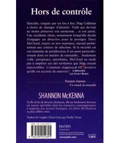 Les frères McCloud T3 : Hors de contrôle (Shannon McKenna) - J'ai lu N° 8347