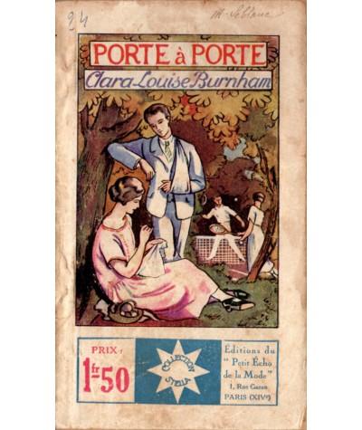 Porte-à-porte (Clara-Louise Burnham) - STELLA N° 125 - Petit Echo de la Mode