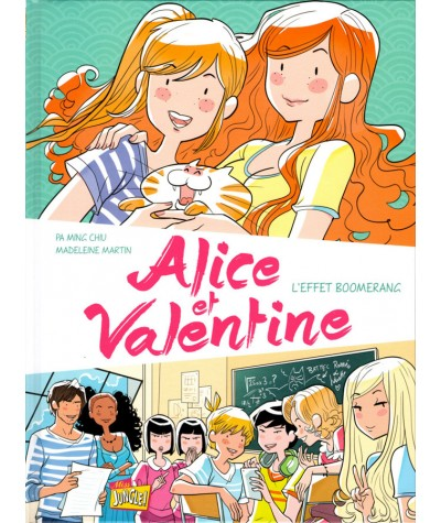 Alice et Valentine T1 : L'effet boomerang - BD Miss Jungle !