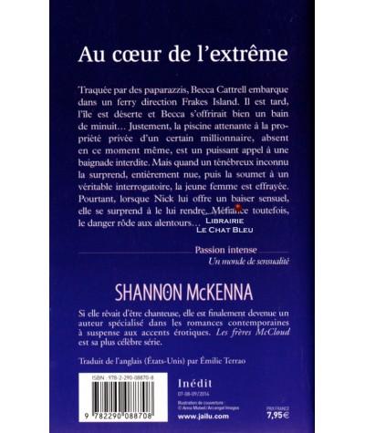 Les frères McCloud T5 : Au coeur de l'extrême (Shannon McKenna) - J'ai lu N° 10783