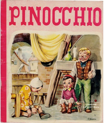 Pinocchio (C. Jacono) - Collection Féeries N° 7