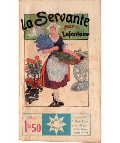 La Servante (H. Lafontaine) - STELLA N° 185 - Petit Echo de la Mode