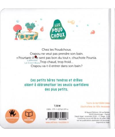 Les Poudchoux : Le bain de Crapou - Editions Tourbillon