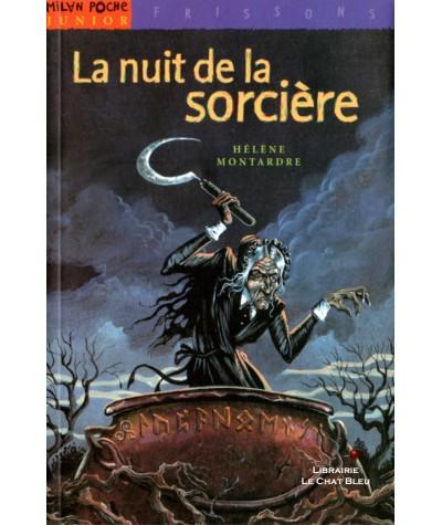 La nuit de la sorcière (Hélène Montardre) - Milan Poche Junior N° 6