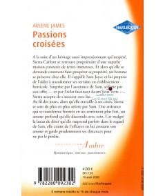Passions croisées (Arlene James) - Harlequin Ambre N° 17