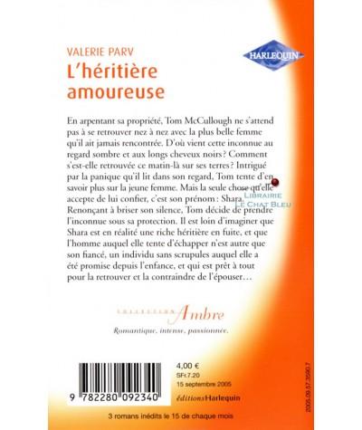 L'héritière amoureuse (Valerie Parv) - Harlequin Ambre N° 21