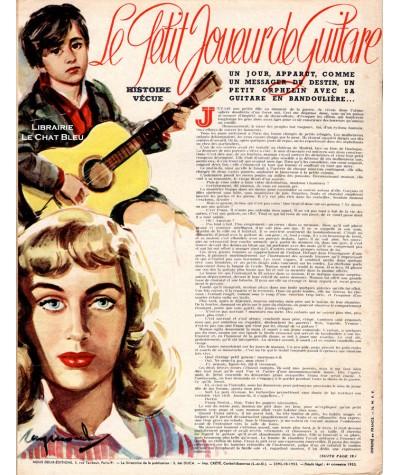 Magazine Nous Deux n° 336 paru en 1953 : Le retour du chasseur