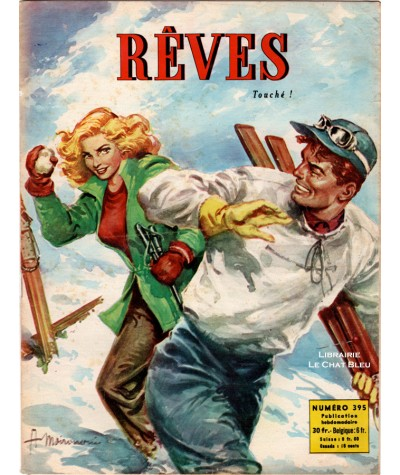 Magazine Rêves n° 395 paru en 1954 : Touché !