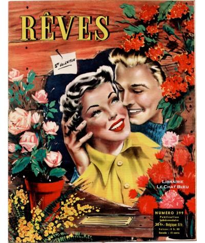 Magazine Rêves n° 399 paru en 1954 : St Valentin
