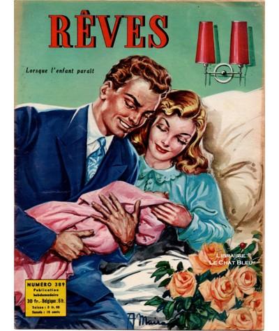 Magazine Rêves n° 389 paru en 1953 : Lorsque l'enfant paraît