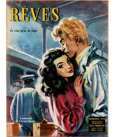 Magazine Rêves n° 394 paru en 1954 : Ce n'est qu'un au revoir