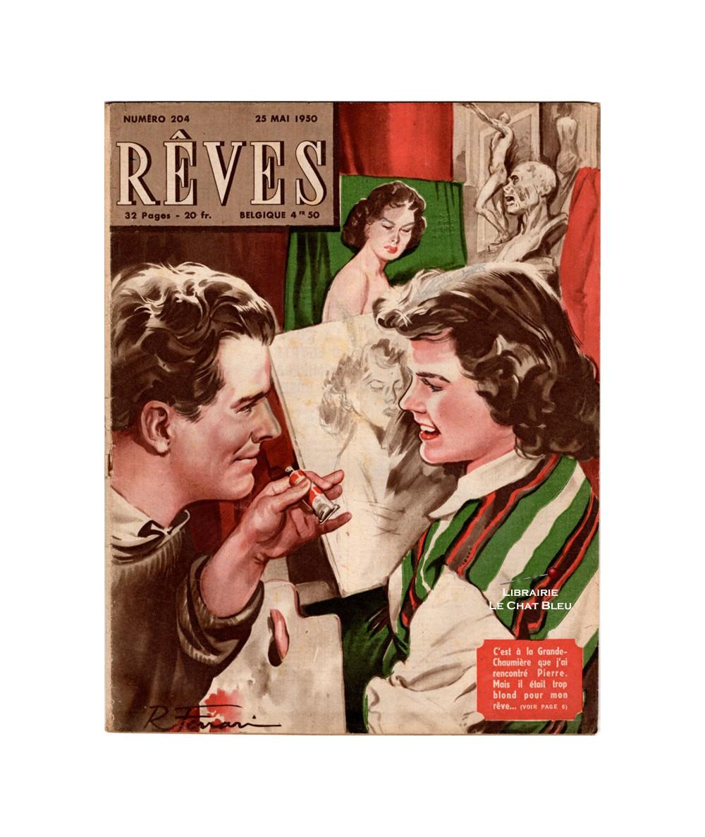Magazine Rêves n° 204 paru en 1950