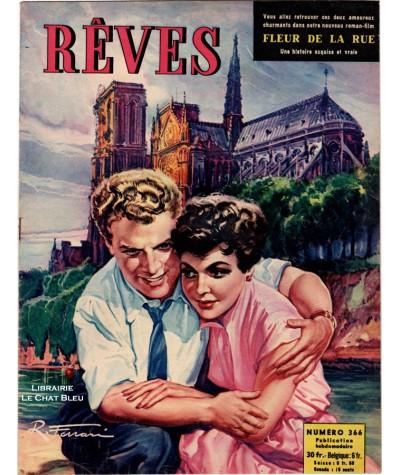 Magazine Rêves n° 366 paru en 1953