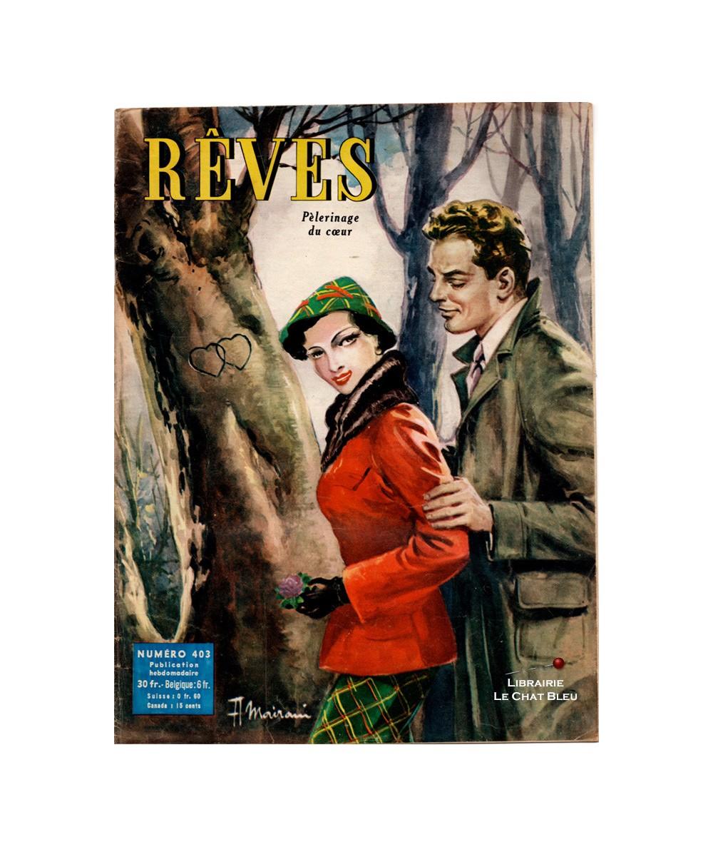 Magazine Rêves n° 403 paru en 1954 : Pèlerinage du coeur