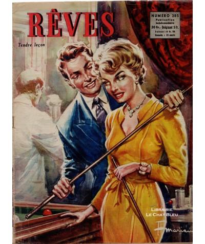 Magazine Rêves n° 385 paru en 1953 : Tendre leçon