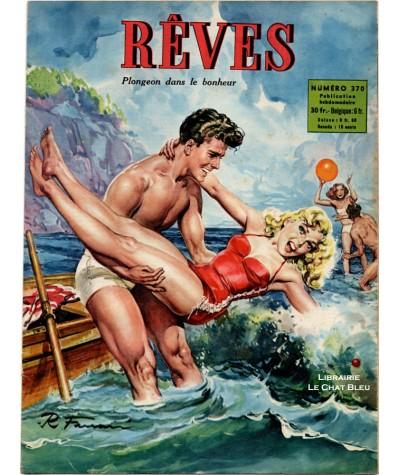 Magazine Rêves n° 370 paru en 1953 : Plongeon dans le bonheur
