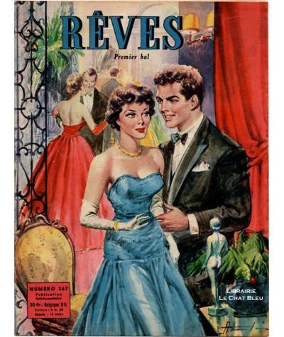 Magazine Rêves n° 367 paru en 1953 : Premier bal