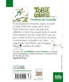 Tobie Lolness T1 : La vie suspendue (Timothée de Fombelle) - Folio Junior N° 1528