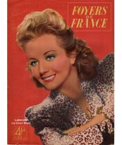 Magazine Foyers de France N° 48 paru en 1944