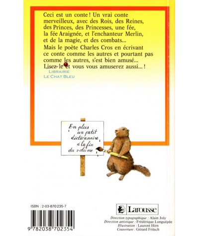Les gens de lettres (Charles Cros) - Classiques Junior Larousse