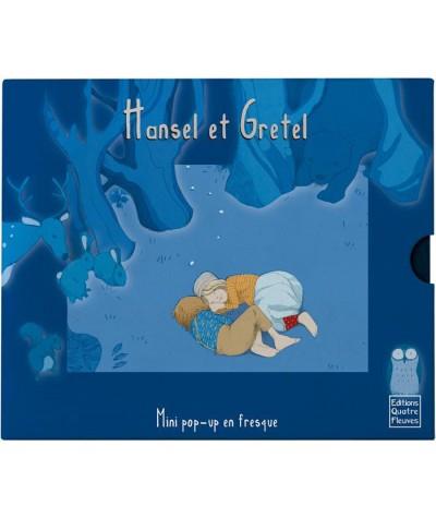 Hansel et Gretel (Frédérique Fraisse) - Mini pop-up en fresque - Editions Quatre Fleuves