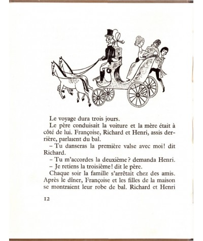 Françoise ou les sept Valses (Alain Prévost) - Albums du Petit Berger