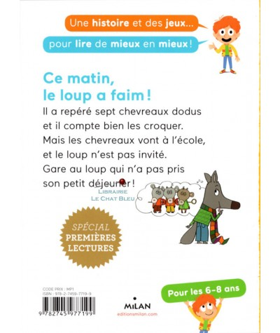 Un loup dans l'école - Milan Poche Benjamin N° 138