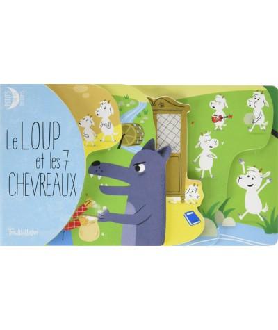 Le loup et les 7 chevreaux (d'après les Frères Grimm) - Editions TOURBILLON