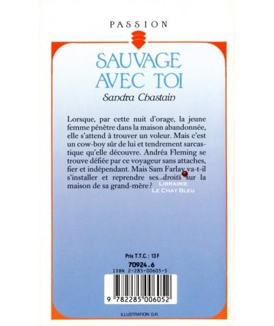 Sauvage avec toi (Sandra Chastain) - Collection Passion N° 321 - Résumé